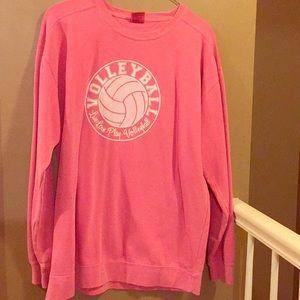 Comfort Color Volleyball sweatshirt